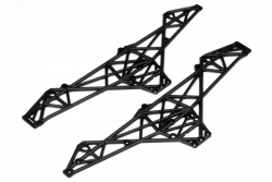 Chassis Set Wheely King (schwarz) hpi racing H85266