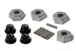 Felgenmitnehmer (Hex/14mm/silber/4S/Sav) hpi racing H86066