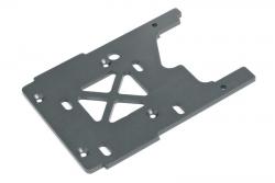 Motorplatte 3.0mm (grau/Savage XL) hpi racing H86080