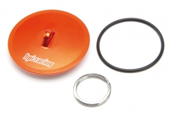 Luftfilter Abdeckkappe (Alu/orange/Baja) hpi racing H86700