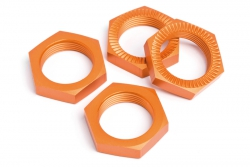 Radmutter 24mm (orange/4St/Baja SS) hpi racing H87494