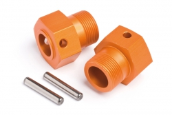 Radmitnehmer 24x27mm(orange/2St/Baja SS) hpi racing H87495