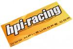 HPI Logo Fenster-Aufkleber (42x20cm) hpi racing H92046