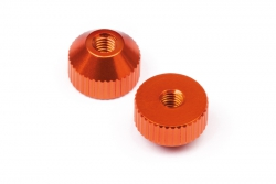 Rändelschraube M3 (orange/2St/D413) hpi racing HB112757