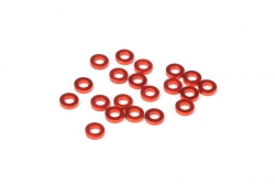 Aluminium Scheibe 3x6x1.5mm(orange/20St) hpi racing HB114490
