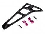 3D Carbon Fibre Vertical Fin (400CP With LRP ML44052