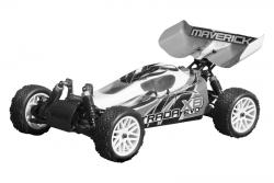 Buggy Karosserie klar (Strada Evo XB) LRP MV22674