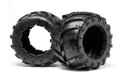 Reifen mit Einlagen (2St/Blackout MT) LRP MV24106