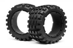 Reifen/Einlagen Set hinten(Paar/BlackXB) LRP MV24175