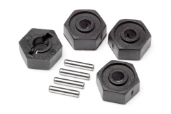 Radmitnehmer/Pins 2x10mm (4St/Scout RC) LRP MV25014