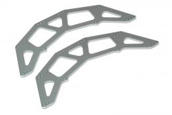 Chassis Seitenplatte (gunmet/2S/ScoutRC) LRP MV25023