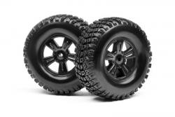 Felgen und Reifen Set (Ion DT, SC) LRP MV28079
