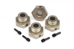 17mm Felgenmitn. Adapter Set (4St/gold) LRP MV29133