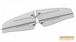 Höhenleitwerk FUNRAY gebaut ( Multiplex 1-00125
