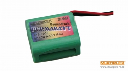 PERMABATT A.-Ak. NiMH 6/1400-AA-W (HS) Multiplex 156038 156019