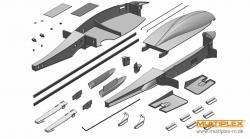Klein- und Kunststoffteile Segler Xeno Multiplex 224110