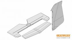 Leitwerke ParkMaster 3D Multiplex 224134