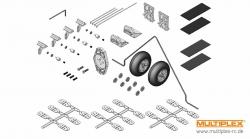 Kleinteilesatz ParkMaster 3D Multiplex 224135