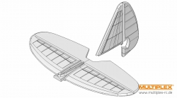Leitwerkssatz EasyCub Multiplex 224140