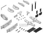 Kleinteilesatz mit Motorträge Multiplex 224141