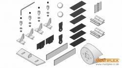 Kleinteilesatz EasyGlider PRO Multiplex 224152