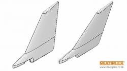 Leitwerke links und rechts FunJet ULTRA Multiplex 224237