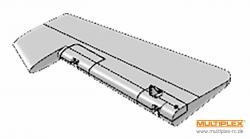 Seitenleitwerk Extra 300 S Multiplex 224306