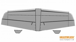 Tragflächen STUNTMASTER Multiplex 224379