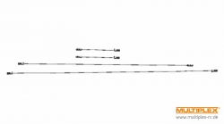 Anlenkungssatz STUNTMASTER Multiplex 224383