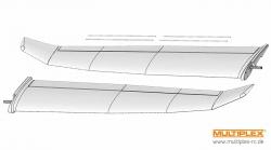 Tragflächen Heron Multiplex 224396