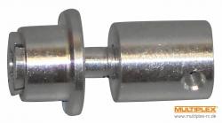 Mitnehmer mit Spinner, Welle 3,0mm Multiplex 332327