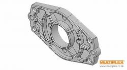 Motorspant-Alu (AcroMaster, ...) Multiplex 332608