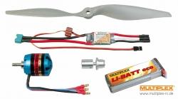 Antriebssatz FunCub Li-BATTpowered Multiplex 333649