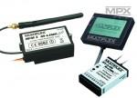Com.HFM3 M-LINK m.RX-9-DR +  Telem.-Disp Multiplex 45659