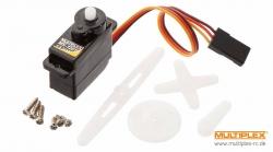 Servo MS-12016 mit Servozubeh Multiplex 65116