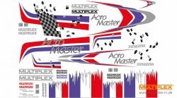 Dekorbogen AcroMaster Multiplex 724390