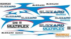 Dekorbogen Blizzard Multiplex 724527