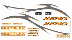 Dekorbogen Xeno Multiplex 724559