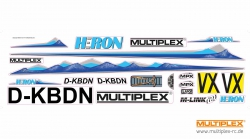 Dekorbogen Heron Multiplex 724774