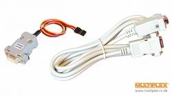 PC-Kabel für RX-SYNTH-Empfänger Multiplex 85150