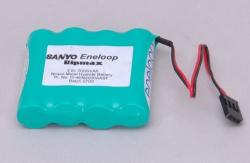 4.8v 2000mAh Eneloop Rx Pk Flat Sanyo
