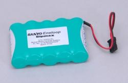 6.0v 2000mAh Eneloop Rx Pk Flat Sanyo