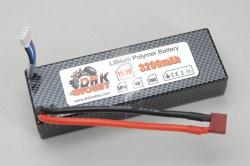 Li-Po Akku (11.1V, 20C, 3200mAh) DHK