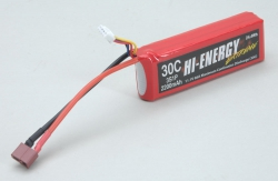 Hi-Energy 3S 2200mAh 30C Li-Po Hi-Energy O-HE3S1P220030A