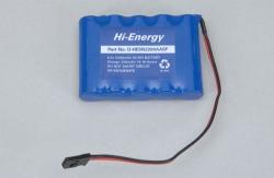 6.0v 2200mAh Ni-MH Rx flach Hi-Energy