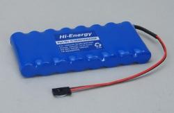 9.6v 1200mAh Ni-MH Tx Pk Flat Hi-Energy