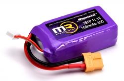 MR 3S 1600mAh 45C Li-Po w/XT60 MR