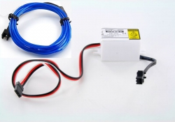 LK-0029BU LED-Leuchtschnur Tuning Set blau 31734