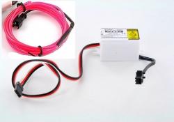 LK-0029PK LED-Leuchtschnur Tuning Set pink 31738