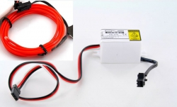 LK-0029RD LED-Leuchtschnur Tuning Set rot 31739